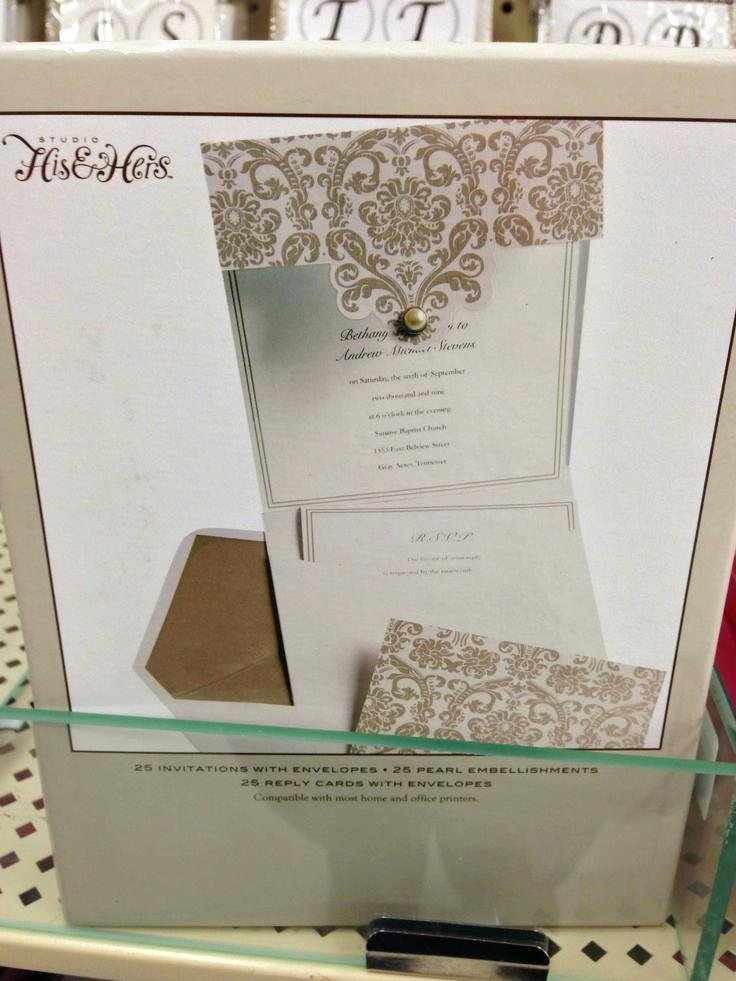 Wedding Invitations Kits Hobby Lobby after Coloring the Mi