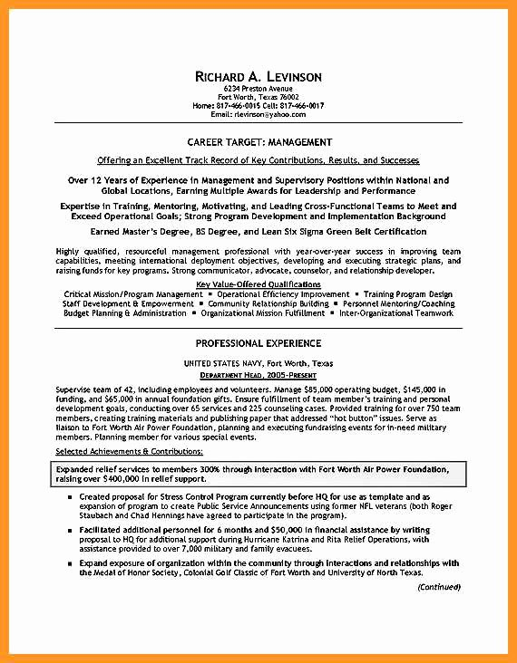 1 2 Resume Builder for Military to Civilian