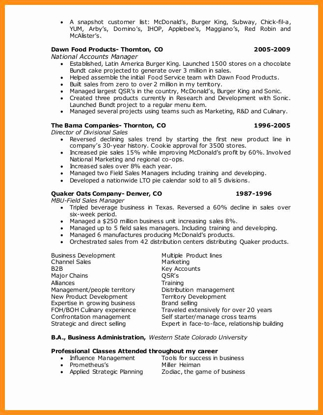 10 11 Chick Fil A Resume Example