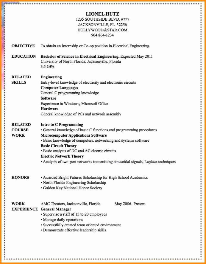 10 11 Knowledge Of Puter Skills On Resume