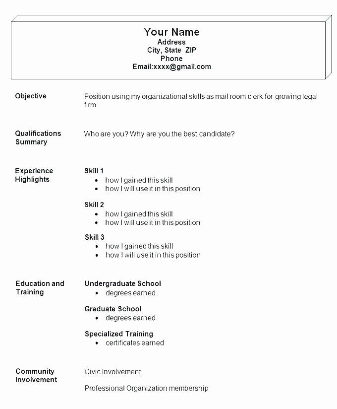 10 11 Sample Job Resumes