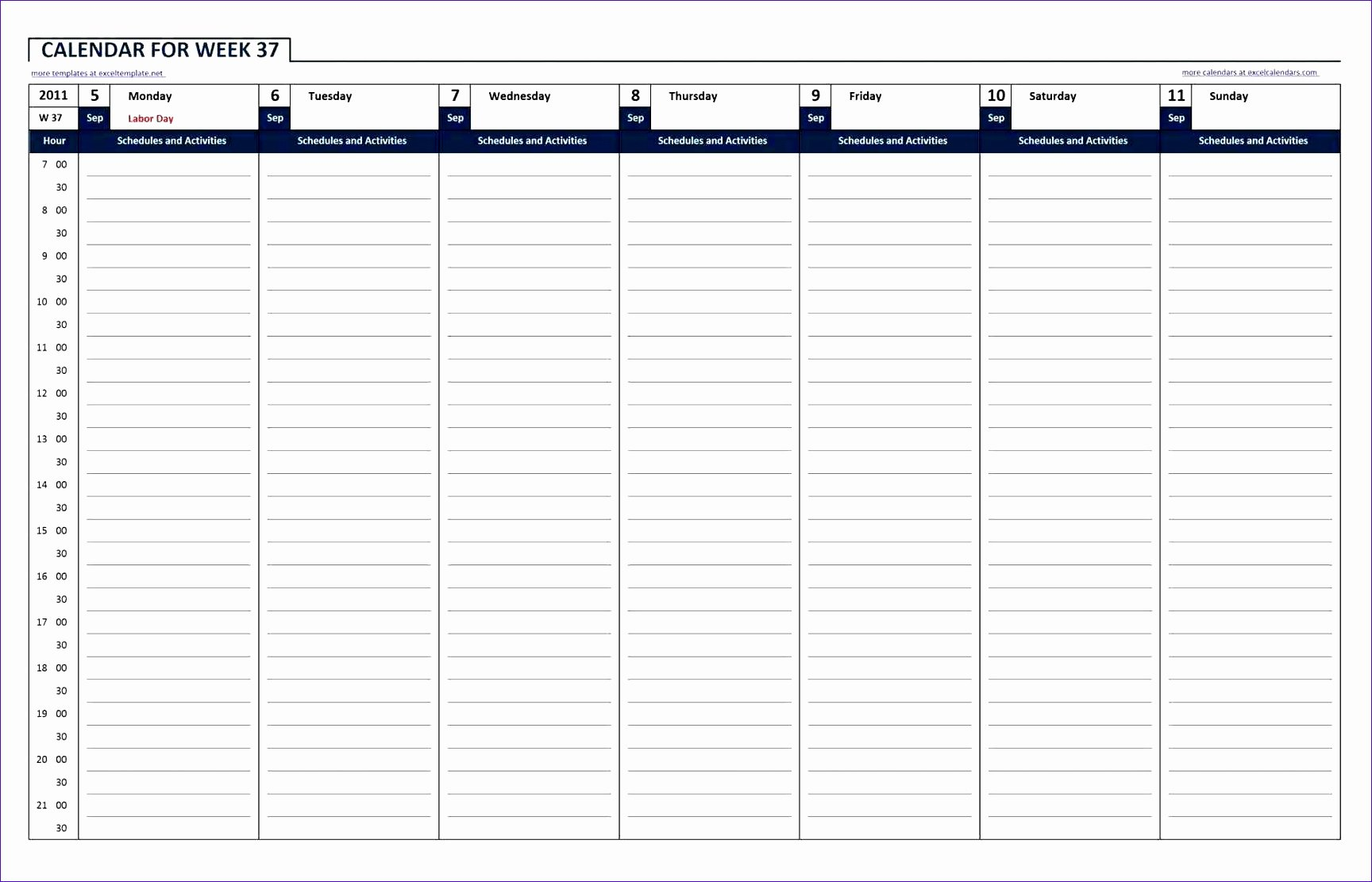 10 24 Hour Work Schedule Template Excel Exceltemplates