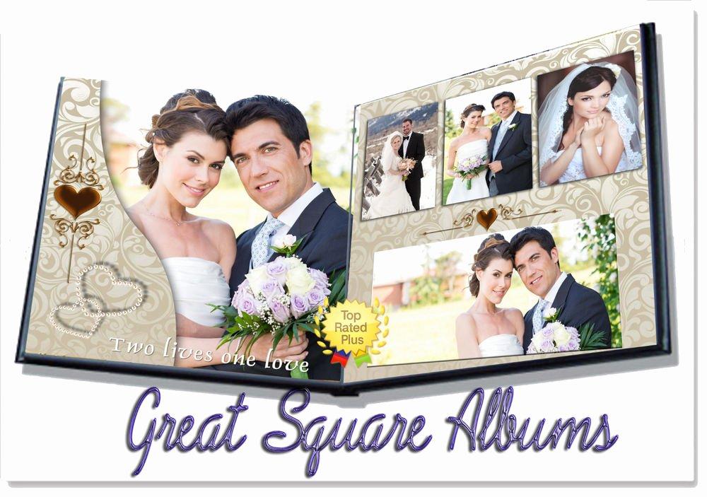 10 Album Templates for Shop Wedding