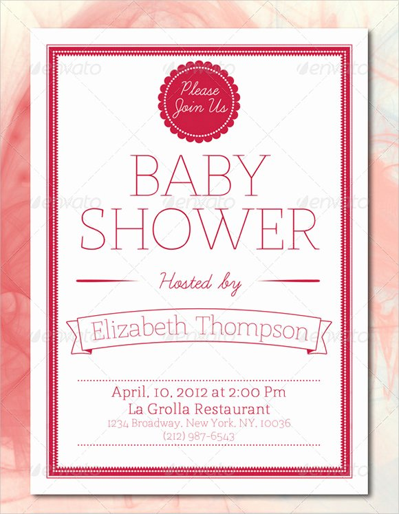 10 Baby Shower Card Templates Free Samples Examples