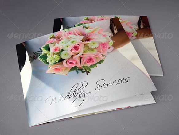10 Beautiful Wedding Brochure Templates – Psd Eps Ai