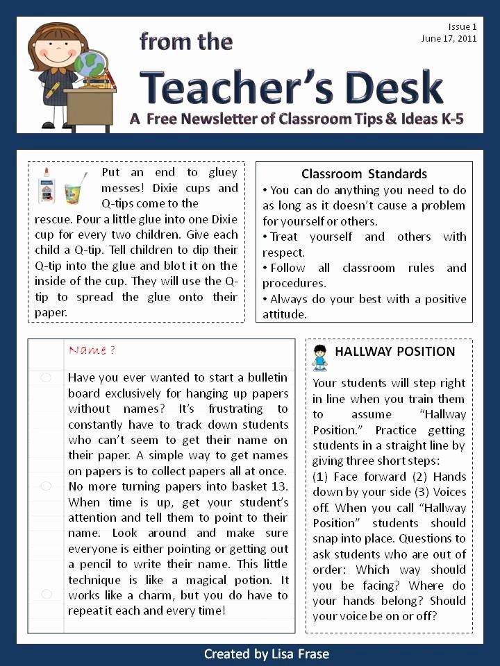 10 Best Classroom Newsletter Images On Pinterest