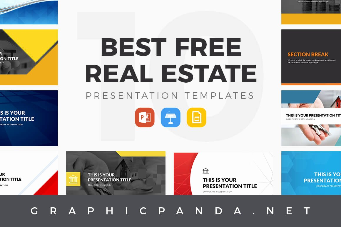 10 Best Free Real Estate Powerpoint Templates Keynote