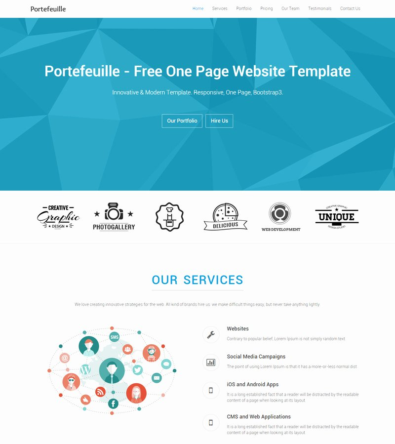 10 Best Free Website HTML5 Templates May 2015