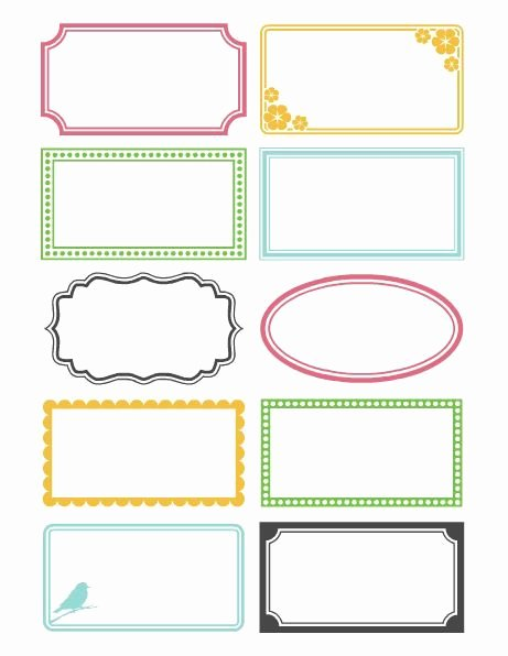 10 Best Ideas About Free Printable Labels On Pinterest