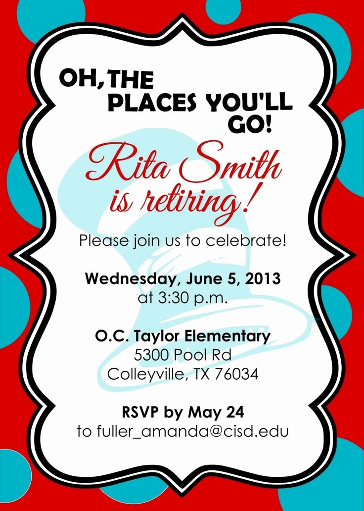 10 Best Images About Retirement Invites On Pinterest