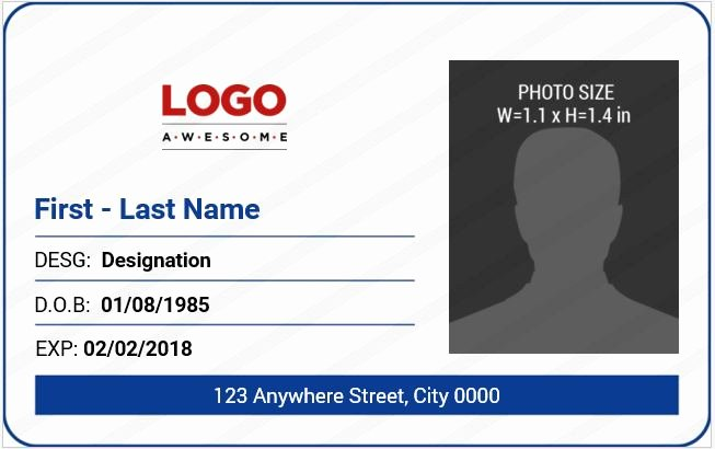 10 Best Ms Word Id Badge Templates for Fice