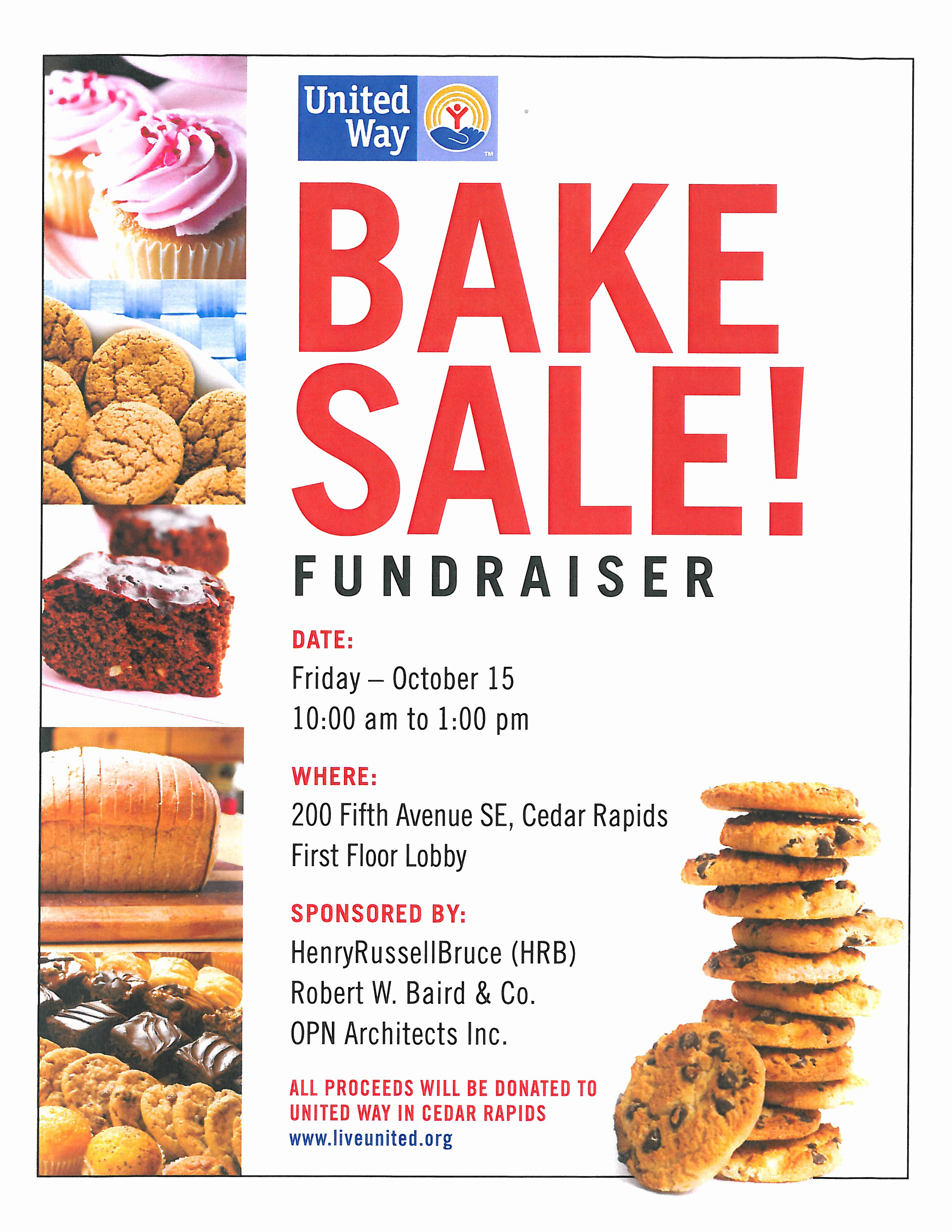 10 Best Of Bake Sale Flyer Sample Bake Sale