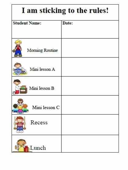 10 Best Of Behavior Charts for Preschoolers