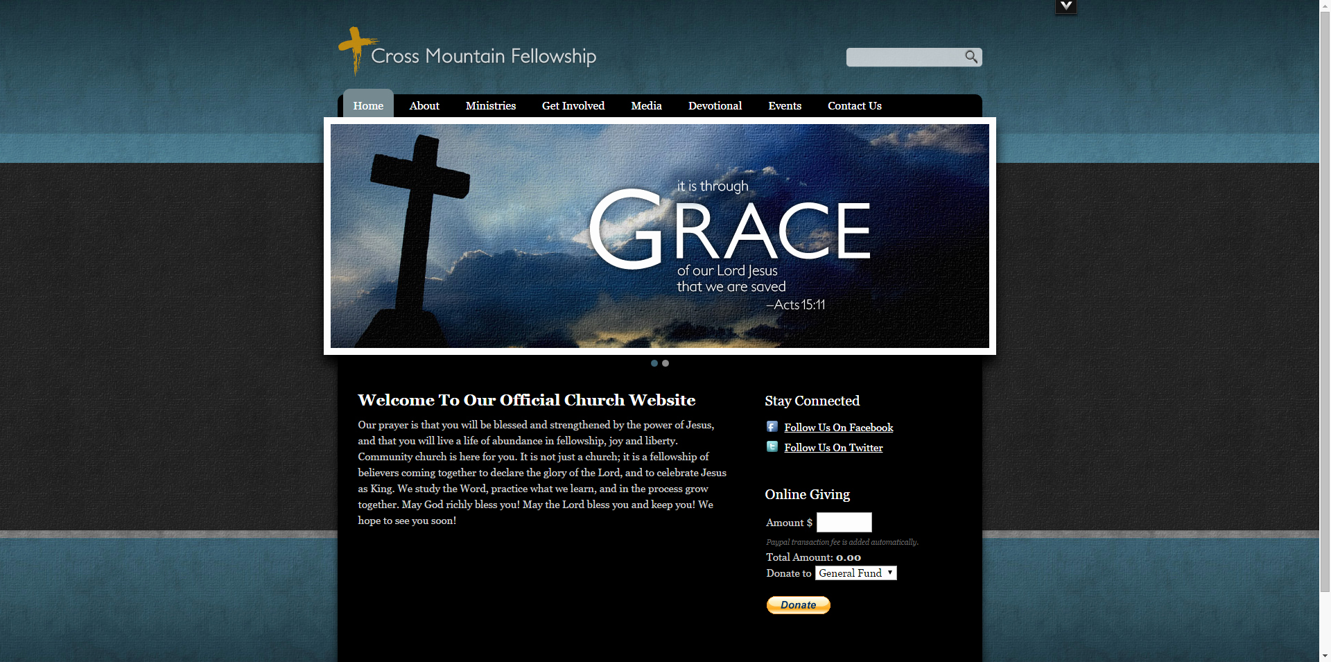 10 Best Of Black Church Website Templates Modern