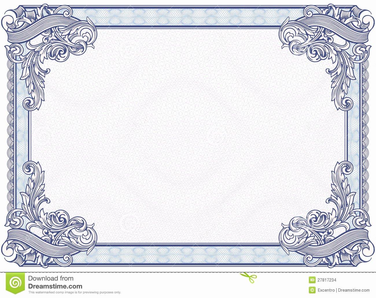 10 Best Of Blank Graduation Certificate Blank