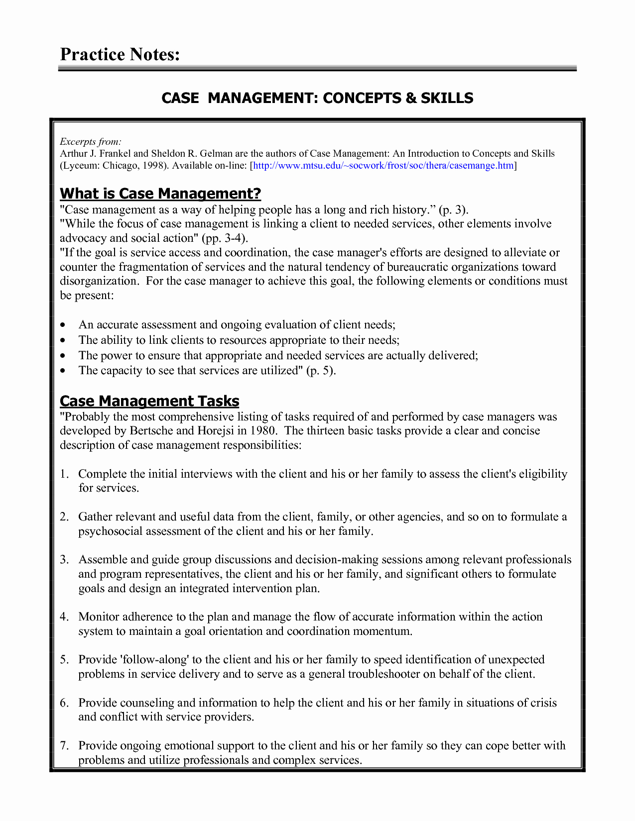 10 Best Of Case Note form Case Management Notes