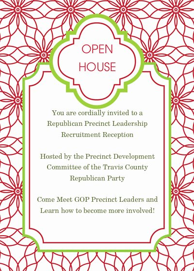 10 Best Of Christmas Open House Invitation Template