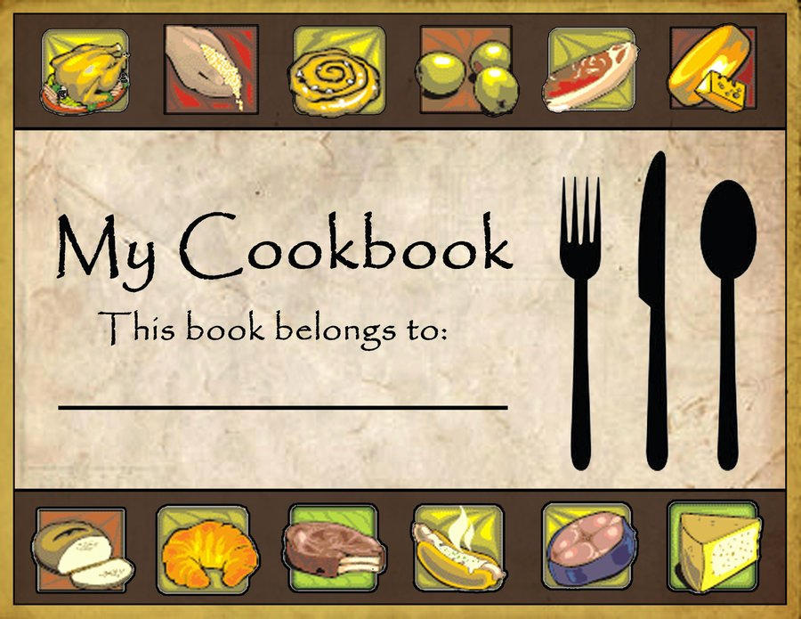 post cookbook covers clip art 8452