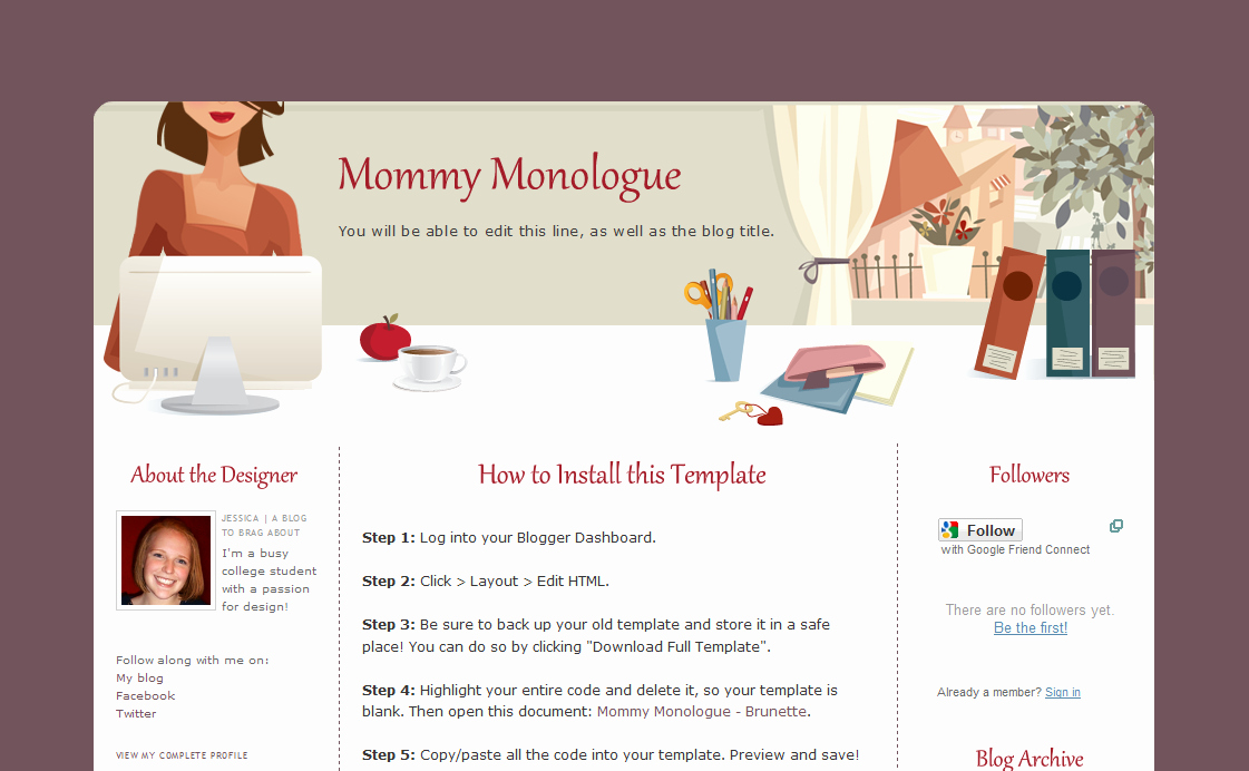 10 Best Of Cute Blogger themes Cute Wordpress