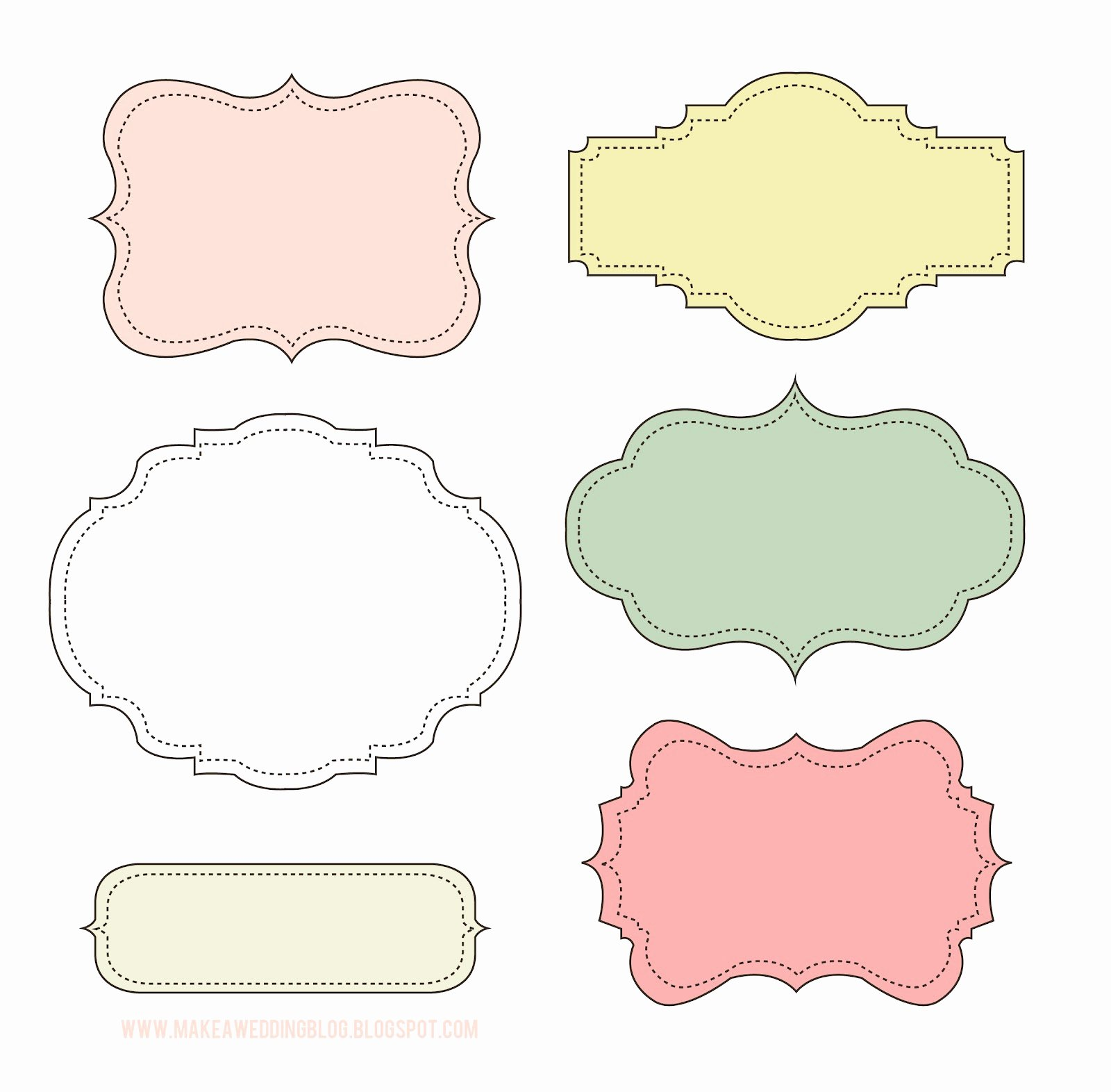 10 Best Of Cute Label Templates Cute Printable