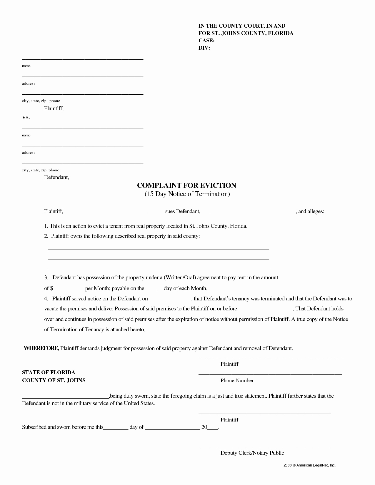 10 Best Of Florida 3 Day Eviction Notice Letter 3