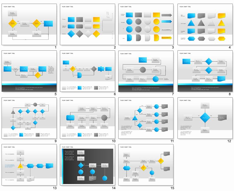 10 Best Of Flow Chart Ppt Template Powerpoint