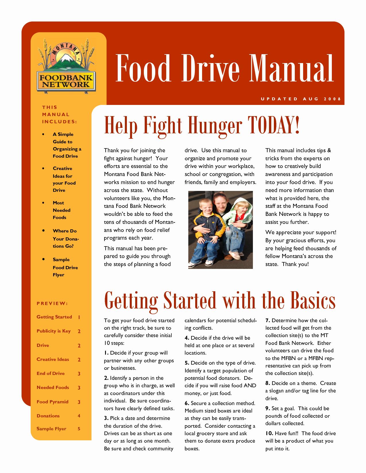 10 Best Of Food Pantry Flyer Sample Food Bank