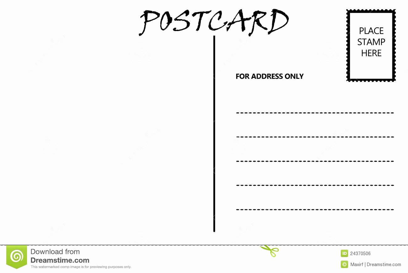 10 Best Of Free Downloadable Postcard Templates