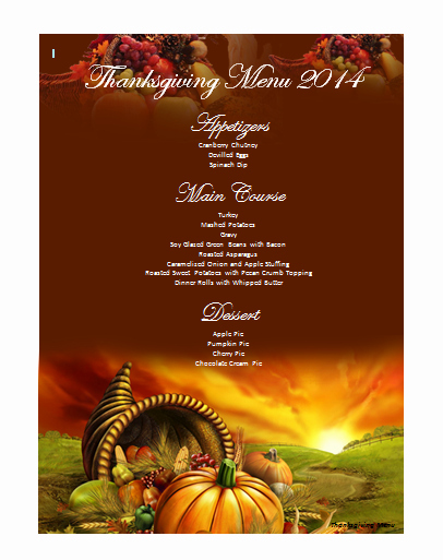 10 Best Of Free Printable Thanksgiving Flyer