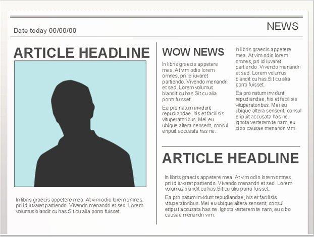 10 Best Of Google Docs Newspaper Article Template