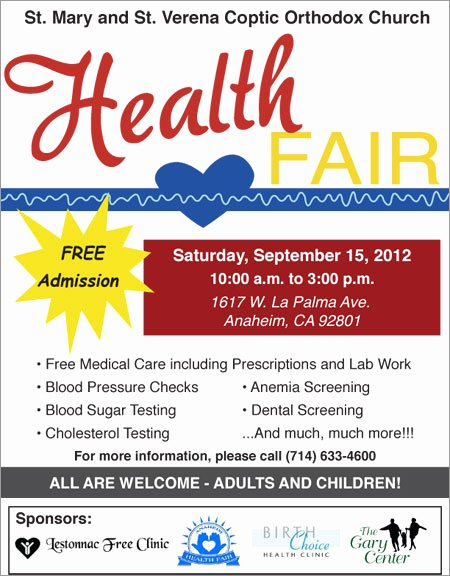 10 Best Of Health Fair Editable Flyer Templates
