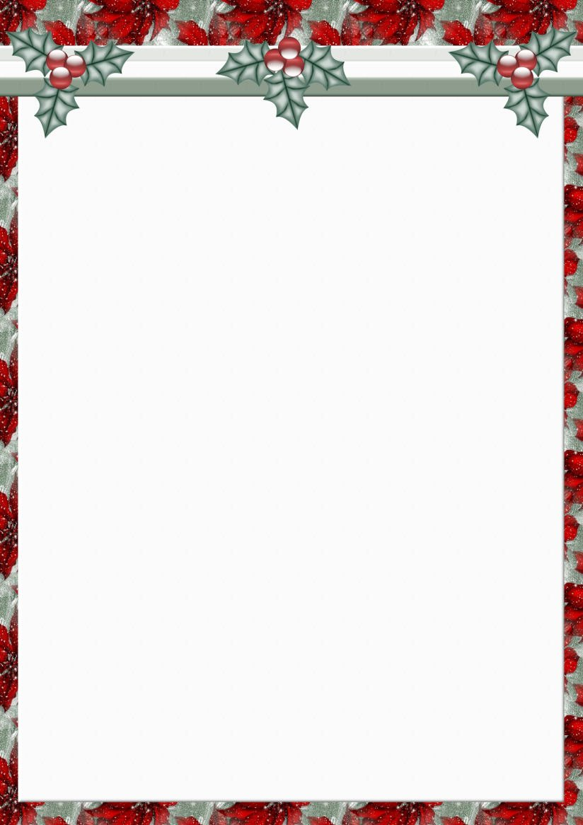 10 Best Of Holiday Letterhead Templates Free