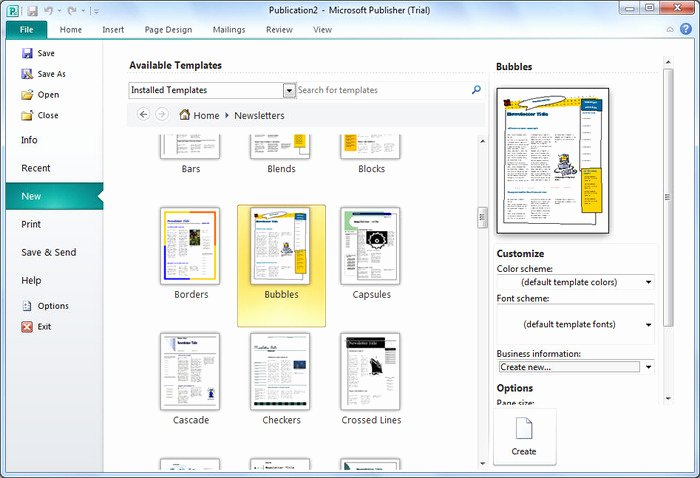 10 Best Of Microsoft Publisher Infographics