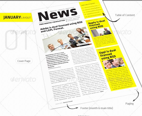 10 Best Of Modern Indesign Newsletter Template