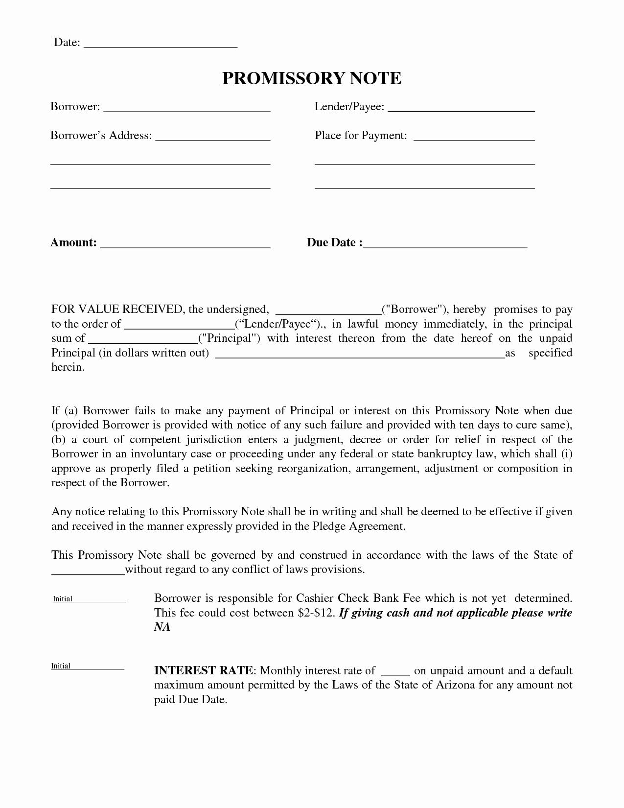 10 Best Of Money Payment Agreement Letter