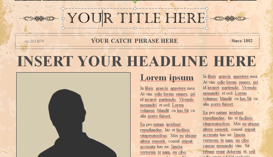10 Best Of Old Newspaper Template Newspaper
