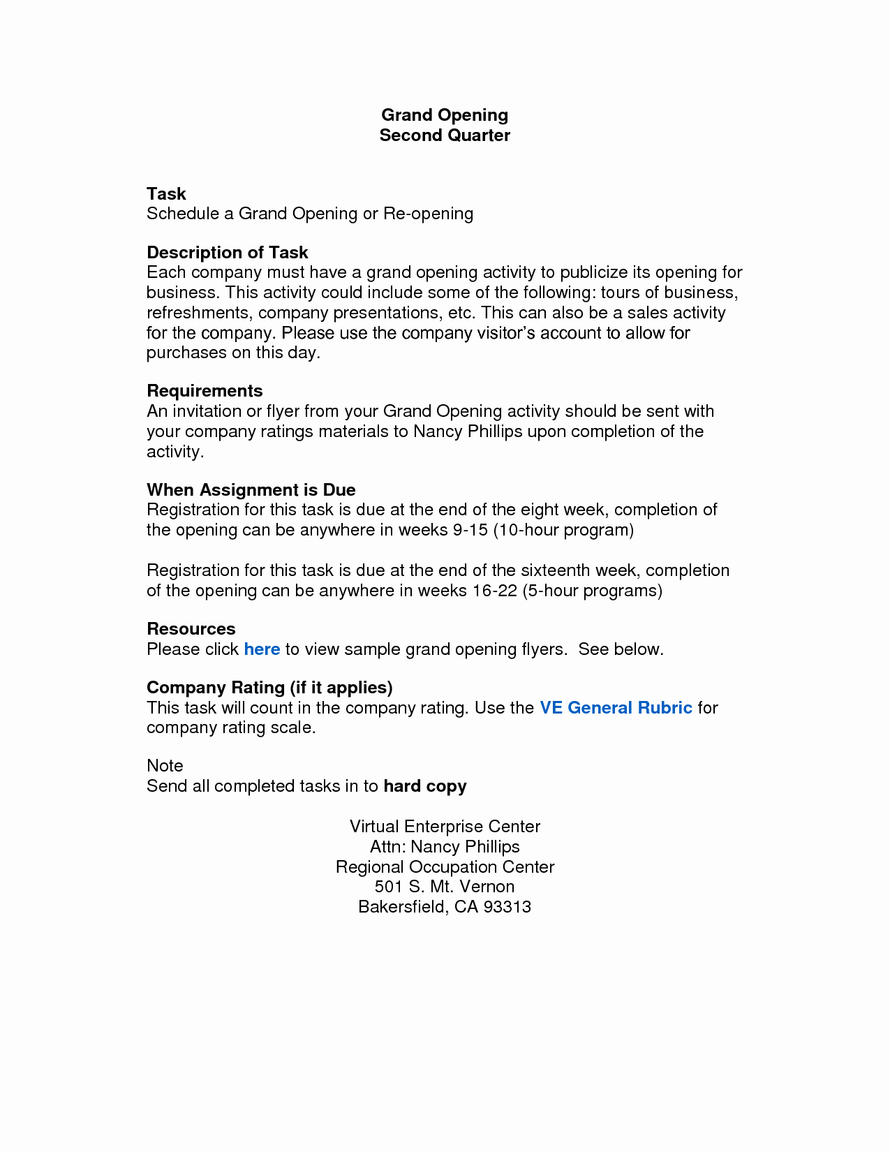 10 Best Of Opening Announcement Letter Letter
