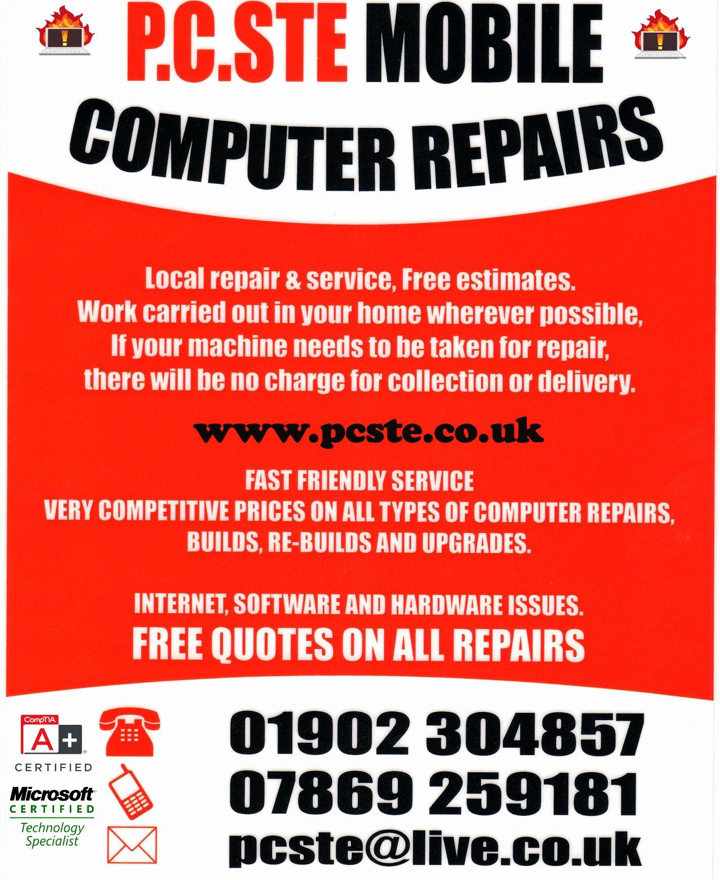 10 Best Of Puter Tech Flyer Puter Repair