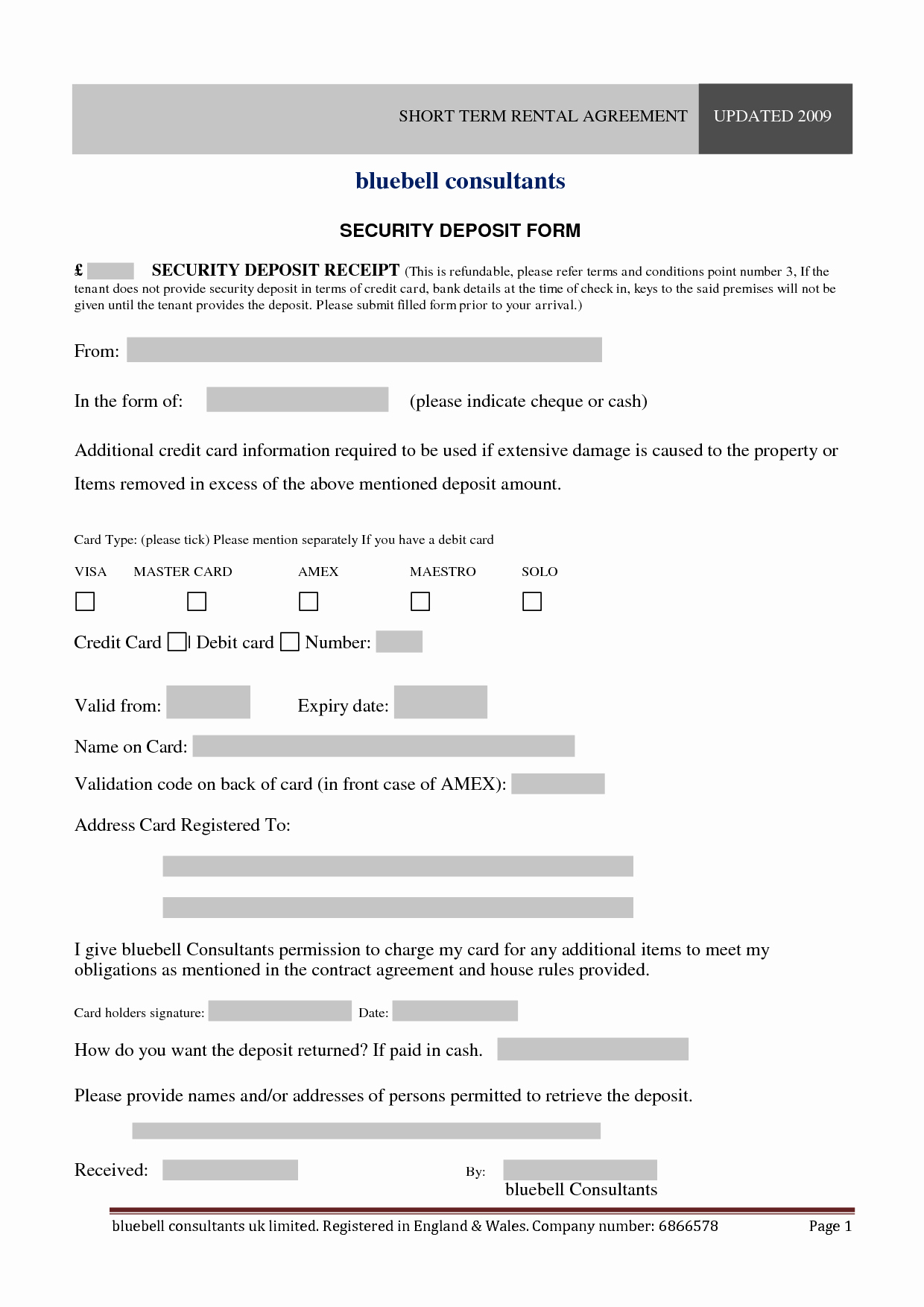 10 Best Of Short form Lease Agreement Template
