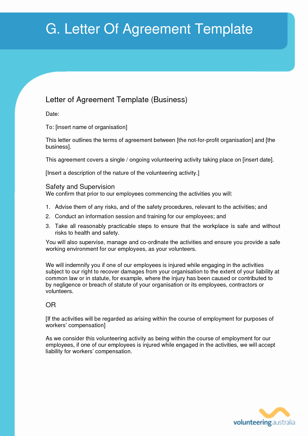 10 Best Of Simple Agreements Letters Template