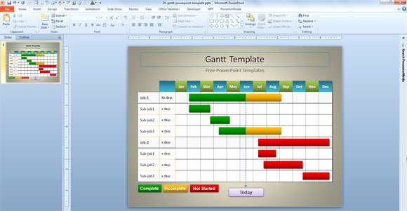 10 Best Of Visio Gantt Chart Template Gantt Chart