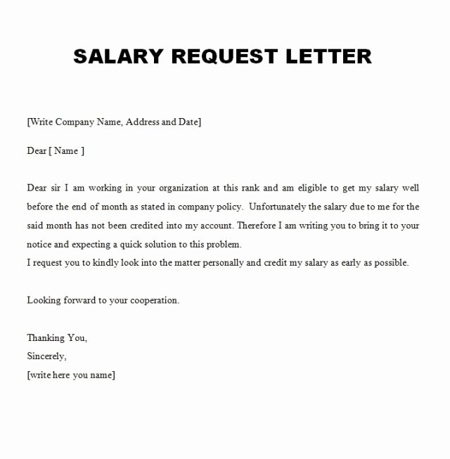 10 Best Salary Increment Letter format for Employee In Doc