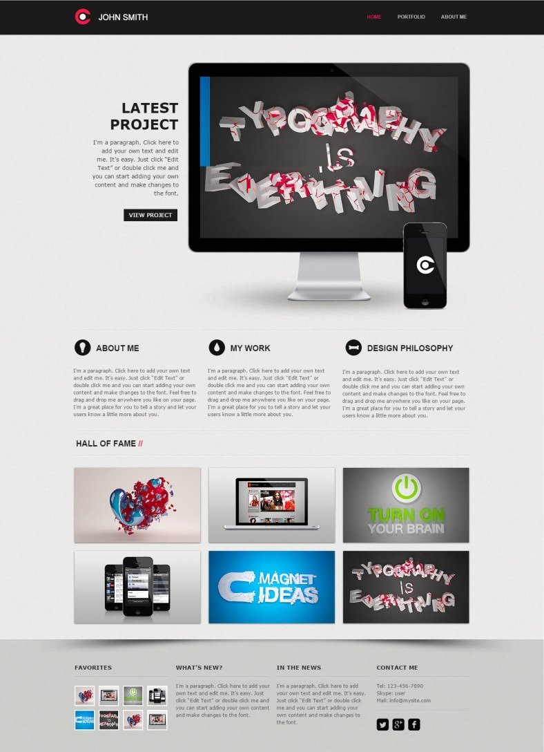 10 Best Web Developer Website Templates
