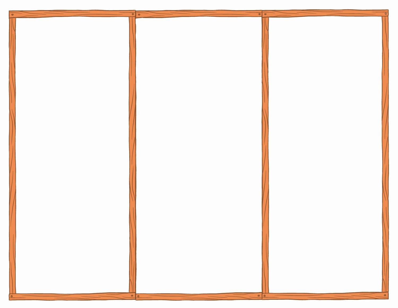 post blank tri fold brochure template