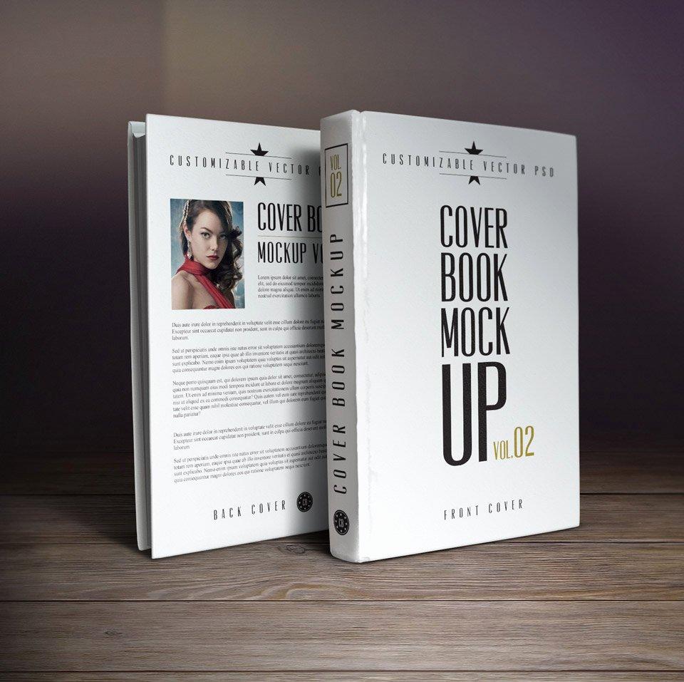 10 Book Cover Psd Mockup Templates Webprecis