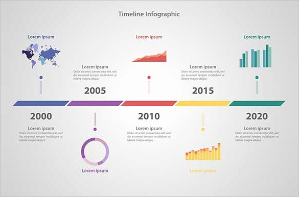 10 Business Timeline Templates Psd Eps Ai