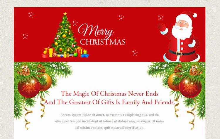 10 Christmas Email Newsletter Templates Designerslib