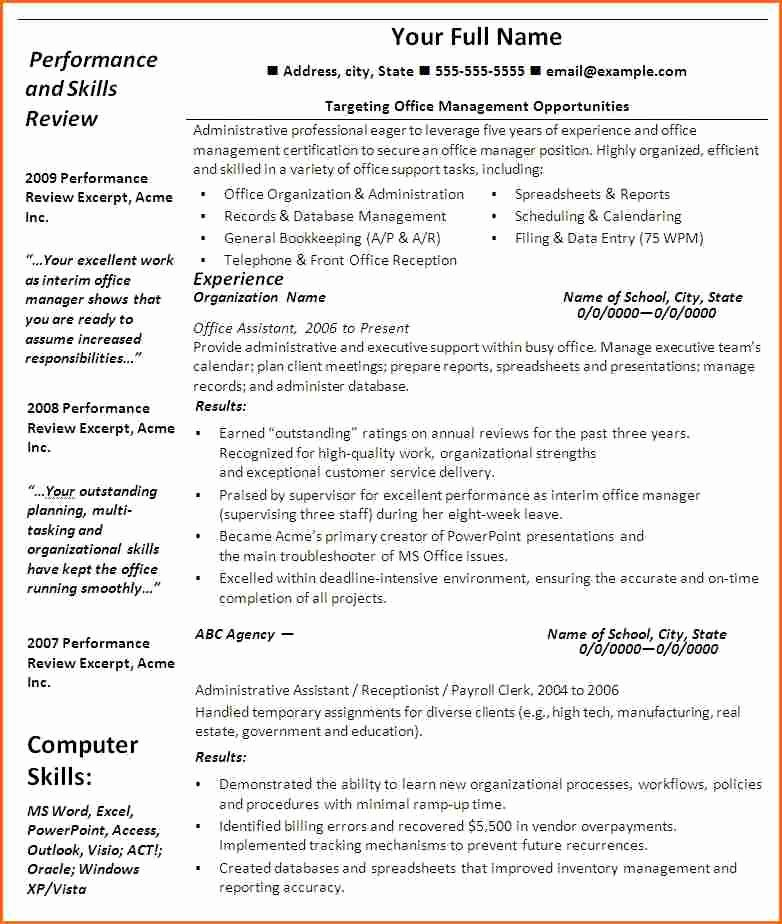10 Cna Resume Template Microsoft Word Bud Template