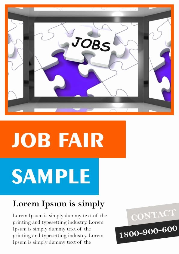 10 Convincing Job Fair Flyers In Word & Psd Templates