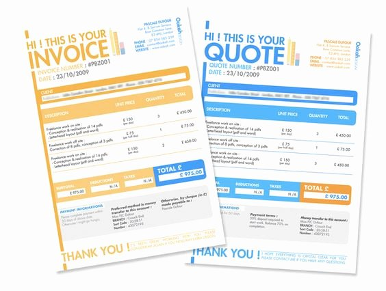 10 Creative Invoice Template Designs